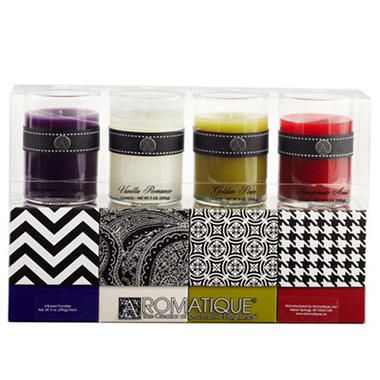 Aromatique Candle Gift Set - Trend Style - 4 pk.