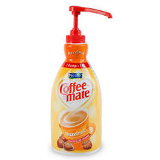 Nestle Coffee-mate - Liquid Creamer Pump, 1.5 liter - Hazelnut