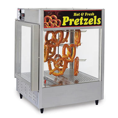 Gold Medal 5551PR Humidified Pretzel Warmer