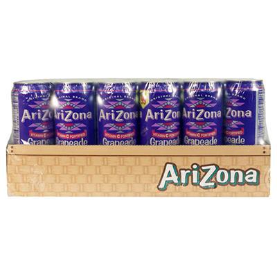 AriZona Grapeade - 23 oz. cans - 24 pk.
