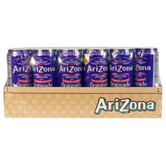 AriZona Grapeade - 23 oz. cans - 24 pk.