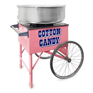 Gold Medal Cotton Candy Machine & Cart Bundle