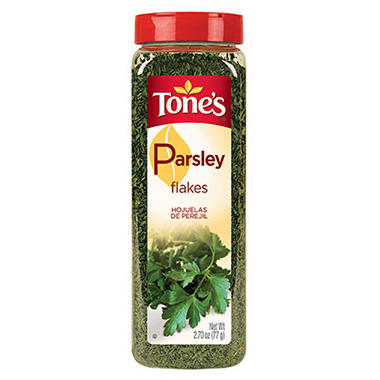 Tone's Parsley Flakes - 2.7 oz.