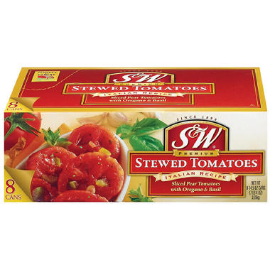 Del Monte® or S&W® Stewed Tomatoes