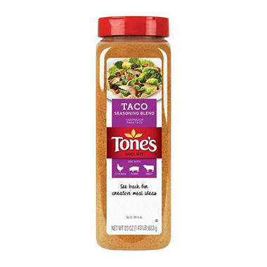 Tone's Taco Seasoning - 23 oz.