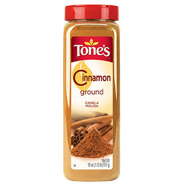 Tone's Ground Cinnamon - 18 oz.
