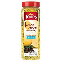 Tone's Lemon Pepper Seasoning - 28 oz.