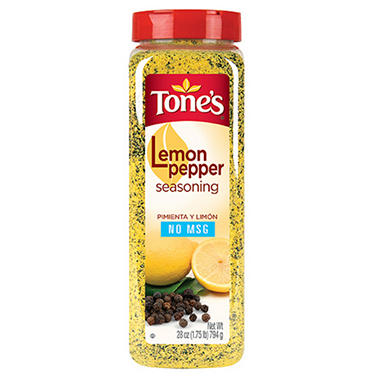 Tone's Lemon Pepper Seasoning - 28 oz.