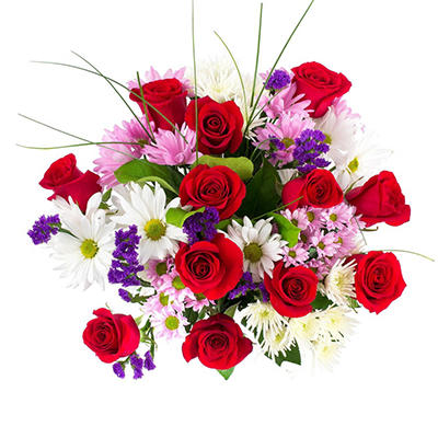 """Love & Laughter"" Mixed Bouquet (delivered Valentine's Day only)"
