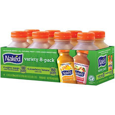 Naked Juice Mighty Mango & Strawberry Banana Variety Pack - 10 oz. - 8 pk.