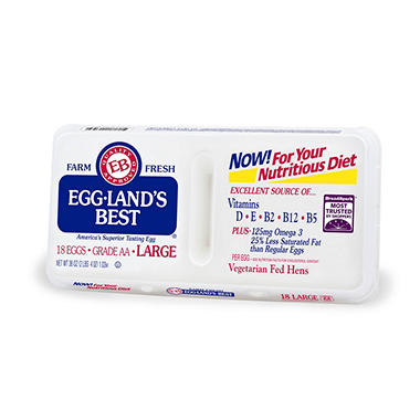Eggland's Best Large Grade AA Eggs - 18 ct.