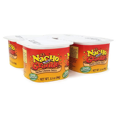 Gold Medal� El Nacho Grande Deluxe Portion Pak Cheese - 3.5 oz. - 48 pks.