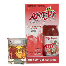 Arty's Old Fashioned Sweet/Sour Brandy (207 ml, 4 pk.)