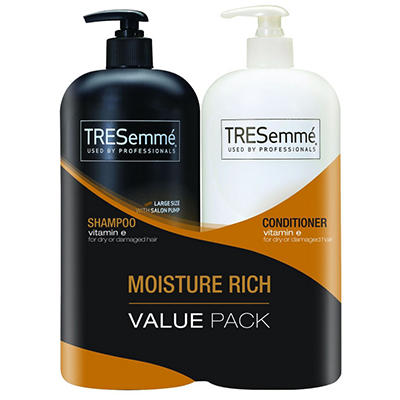 TRESemm Shampoo & Conditioner - 44 oz. - 2 pk.
