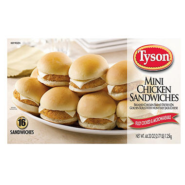 Tyson® Mini Chicken Sandwiches