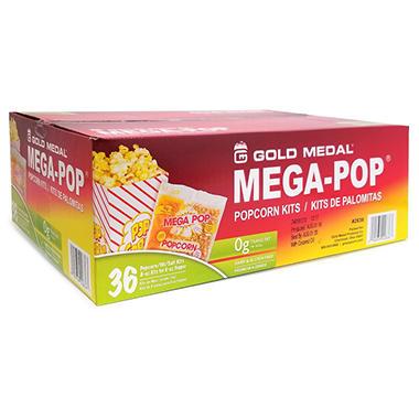 Mega-Pop Popcorn Kit - 6 oz. - 36 ct.