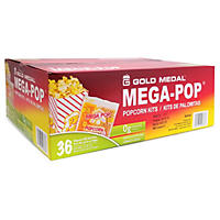 Gold Medal Mega Pop Popcorn Kit (6 oz. kit, 36 ct.)