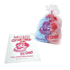 Gold Medal Plastic Cotton Candy Bags (1,000 ct.)