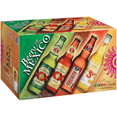 Beers of Mexico Variety Pack - 24/12 oz.