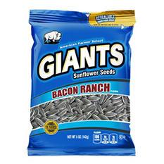 Giants Sunflower Seeds, Bacon Ranch (5 oz. bag, 12 ct.)
