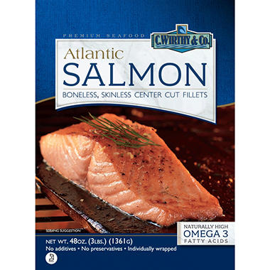 C.Wirthy & Co.™ Salmon Fillets