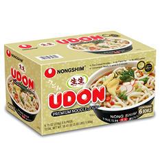 Nongshim Udon Premium Noodle Soup (9.73 oz., 6 pk.)