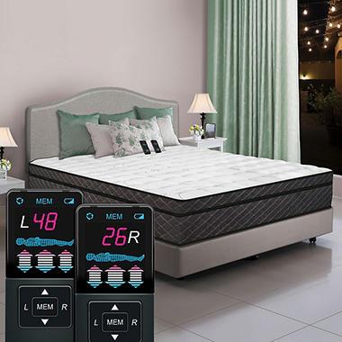 Dual Digital Reflections Pillowtop Air Bed - King