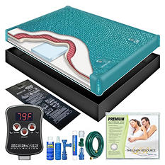 Ultra Waveless Lumbar Waterbed Mattress Kit - King