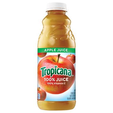 Tropicana Apple Juice - 32 oz. bottles - 12 pk. - Sam's Club