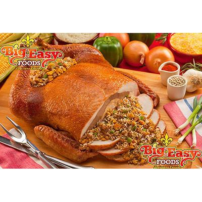 Big Easy Foods Cornbread Tur-Duc-Hen - 15 lbs.