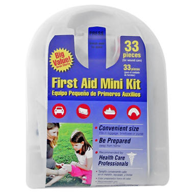 Ready America Mini First Aid Kit - 33 pc.