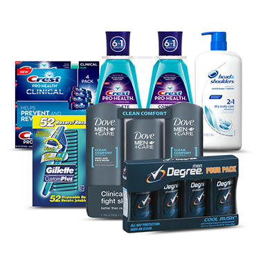 Back to Class Men's Personal Care Package