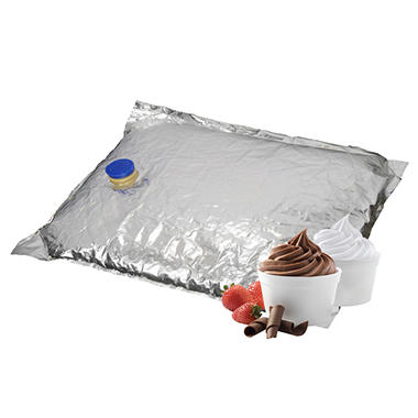 Gold Medal Vanilla Liquid Soft Serve Ice Cream Mix - 1.5 gal. bags - 3 pk.