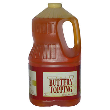 Gold Medal Buttery Topping - 1 gal. - 4 pk.