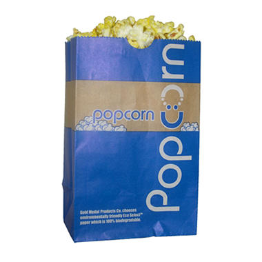 Gold Medal Eco-Select Popcorn Bags - 46 oz.  - 1,000 ct.
