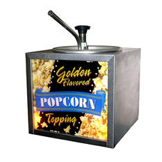 Gold Medal Buttery Topping Dispenser with Lighted Sign