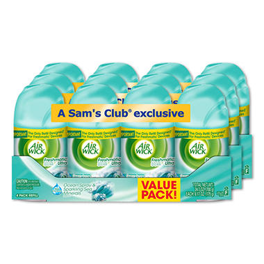 Air Wick Freshmatic Refills, Ocean Spray & Sparkling Sea Minerals - 12 Refills