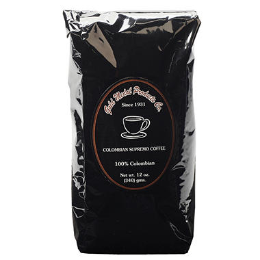 Gold Medal Columbian Supremo Coffee (12 oz. bag, 12 ct.)