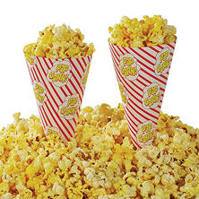 Gold Medal Cone A Corn Popcorn Cup (1,000 ct.)