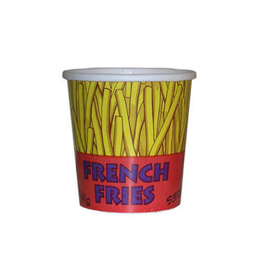 Gold Medal French Fry Plastic Cup 16 oz. (500 ct.)