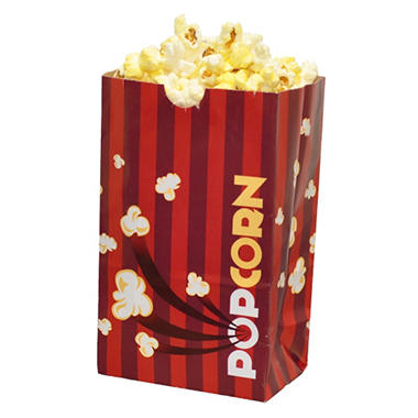 Gold Medal Laminated Popcorn Bags, 1 oz. (1,000 ct.)