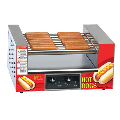 Gold Medal ® 8024 Lil Diggity Hot Dog Roller Grill