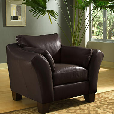 Loft Leather Chair - Brown
