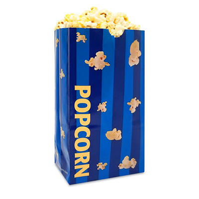 Gold Medal Laminated Popcorn Bags, 2.5 oz. (1,000 ct.)