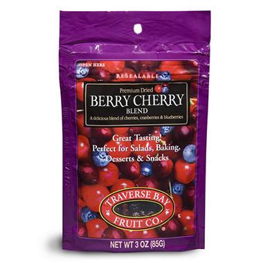 Traverse Bay Dried Berry Cherry Blend, 3oz (12 pk)