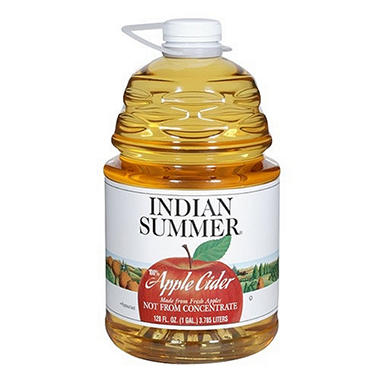 Indian Summer Apple Cider - 4 pk. - 128 oz.