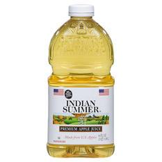 Indian Summer Apple Juice - 8 pk. - 64 oz.