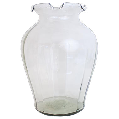 Floralife Extra Large Clear Glass Vase - 4 ct.
