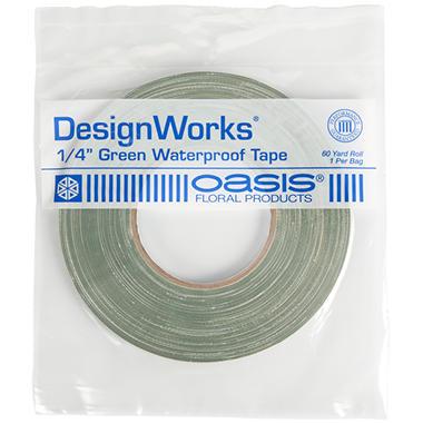 "Oasis Green Waterproof Floral Tape - 60 yd. X 1/4"" - 25 Rolls"