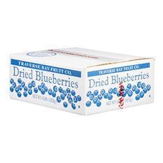 Traverse Bay Dried Blueberries - 4 lb. Box